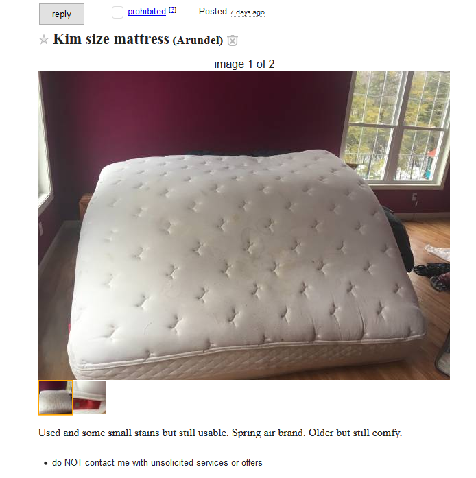 It S A Kim Size Mattress Pretty By The Looks Of Not Washing With Rag On Stick More Like Ping At Marden Hoverround