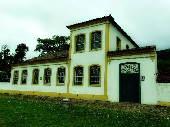 Fachada do Museu Etnográfico Casa dos Açores, Biguaçu