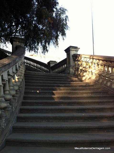 Escadas - Cerro Santa Lucía