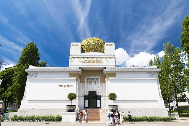 Pabellón de la Secesión, Viena, por El Guisante Verde Project