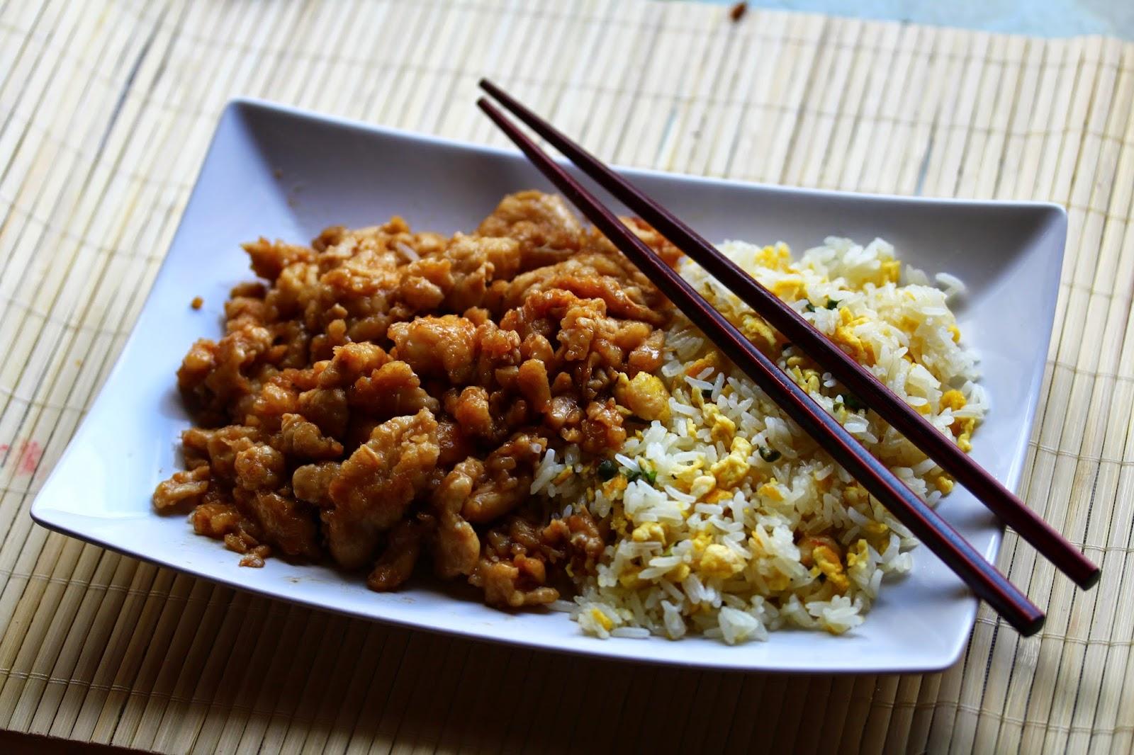 kanasuikaleita ja riisiä