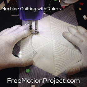 The Free Motion Quilting Project Machine Quilting A Star