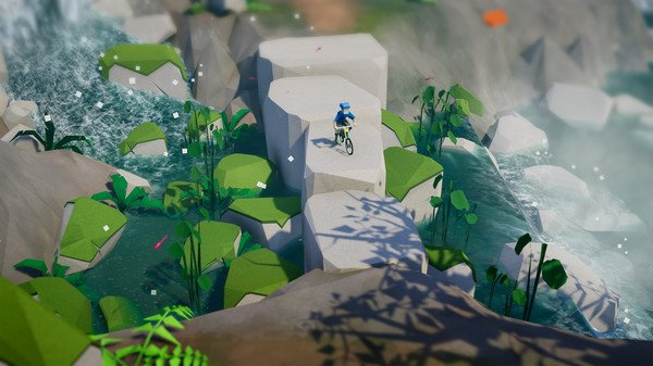 Lonely Mountains: Downhill (2019) PC Full Español