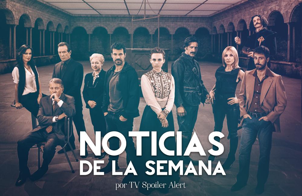 Noticias semana series Netflix El Ministerio del Tiempo