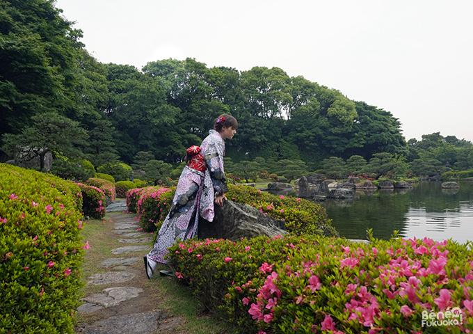 ふくおか着物ウォーク(5月号)- ベネの福岡!