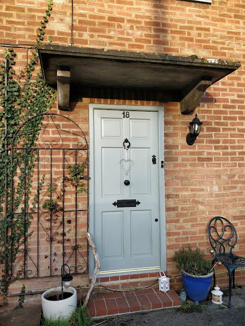 duck egg front door