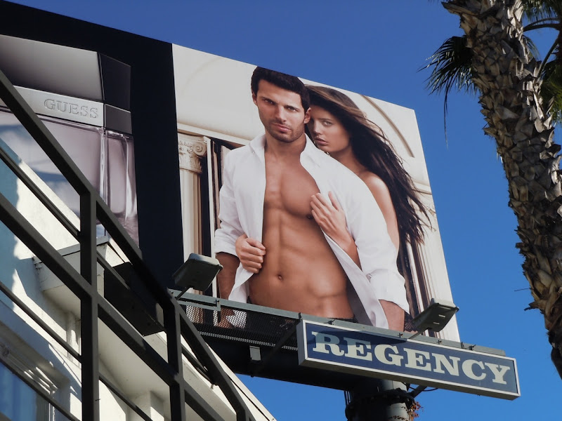 Guess Seductive Homme male model billboard