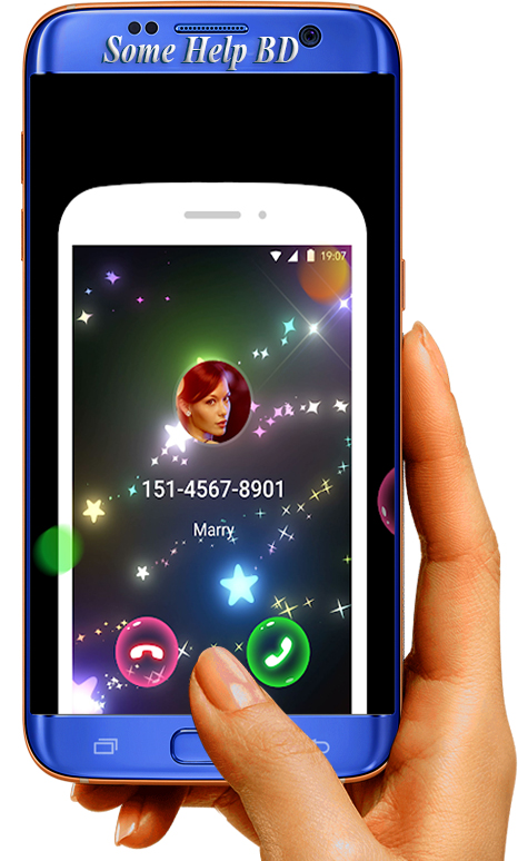 Color phone flash amazing calling display   !!! - Some Help BD