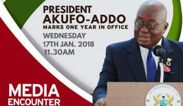 Akufo-Addo marks one year in office with second media encounter