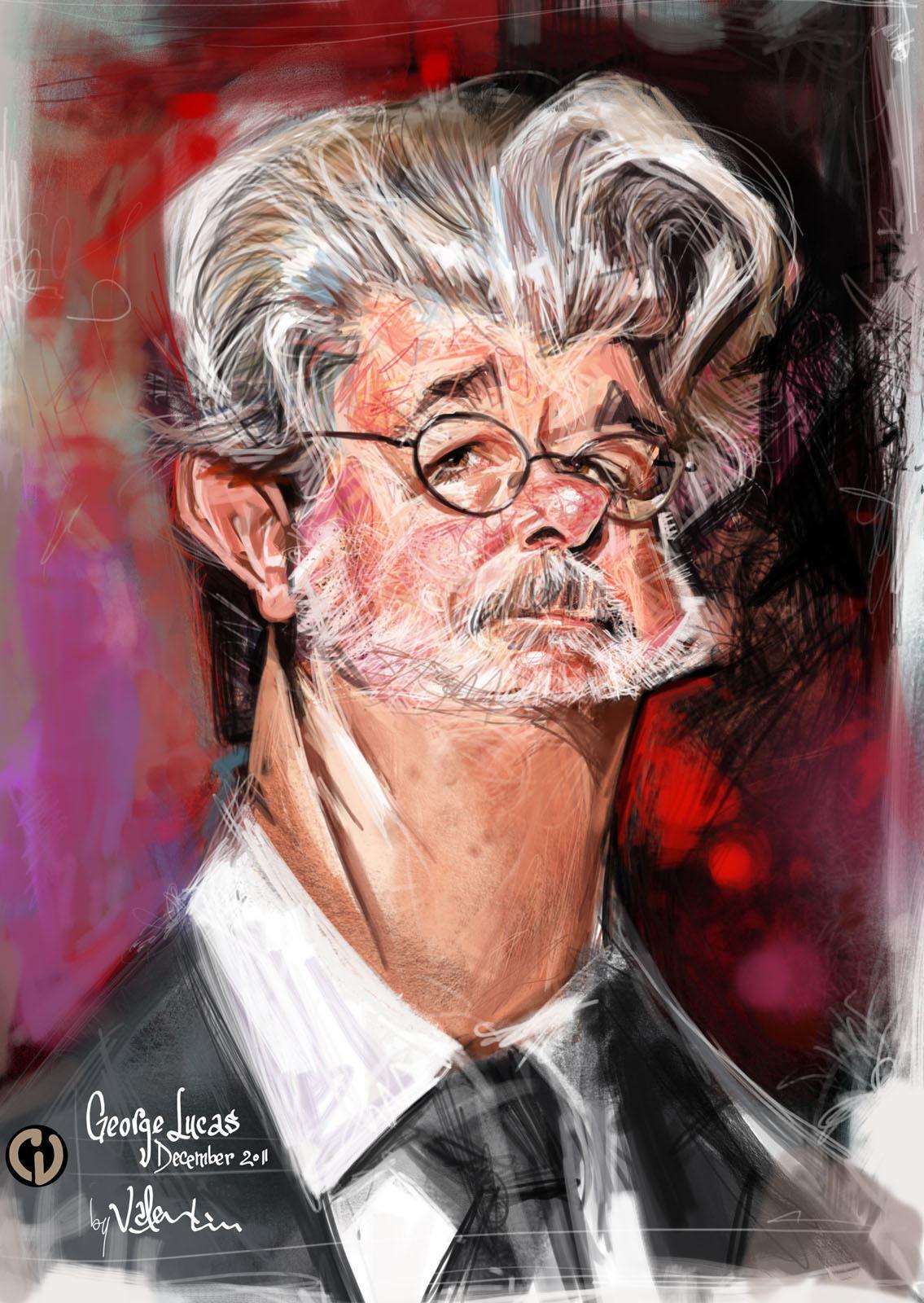 George Lucas por Valentin Chibrit