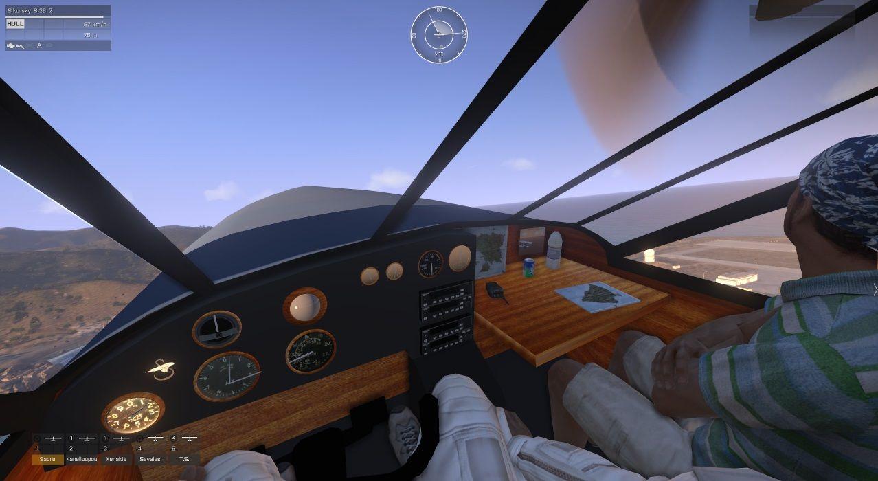 弱者の日記^^Arma 3 用 Sikorsky S-38 水陸両用機アドオンの操縦席の画像など公開