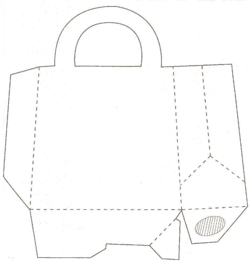 les mains dans la t te patron sacs en papier. Black Bedroom Furniture Sets. Home Design Ideas