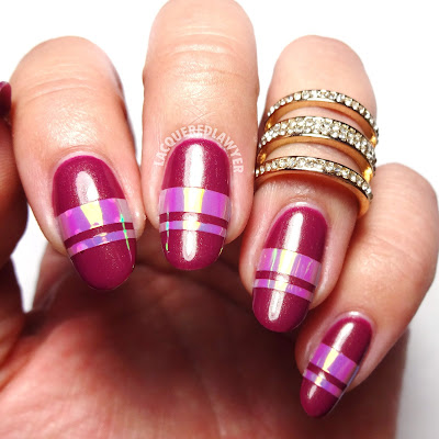 Fuchsia Flash Nails