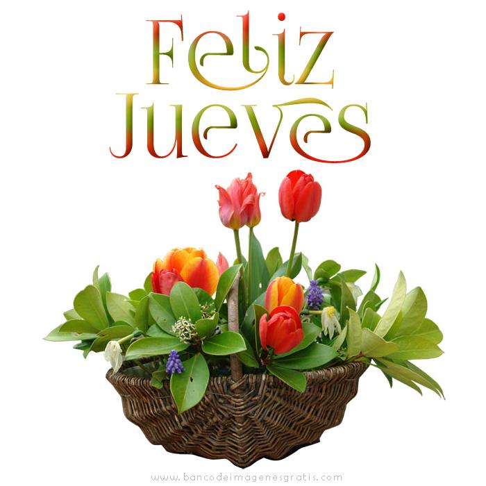 Banco De Imágenes Postales Con Mensajes De Feliz Jueves Para El