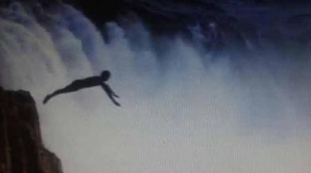100 फीट ऊंचे झरने से गिरा भाई, बचाने कूदी बहन, मौत