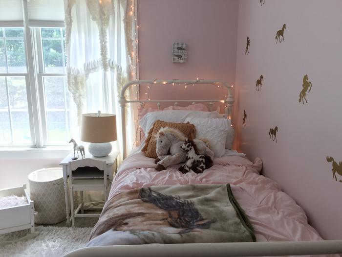 A Horse Bedroom For Scarlett.