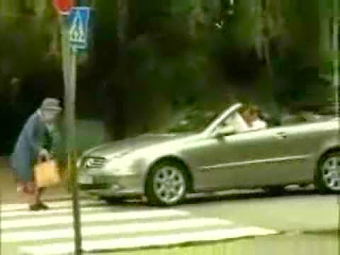 Grandmother Drags Rude Driver