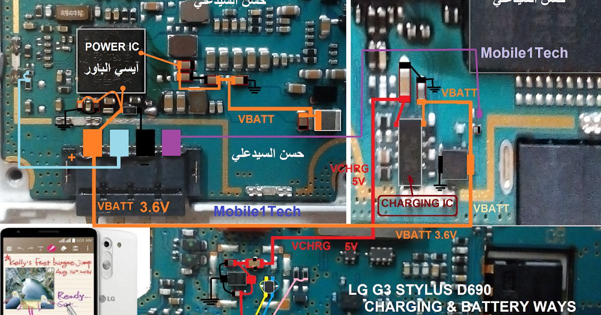 Mobile1Tech : LG G3 STYLUS D690 CHARGING &BATTERY WAYS