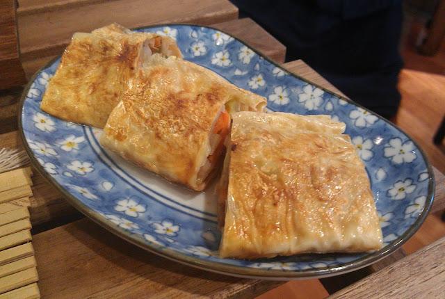 LockCha Teahouse, Hong Kong, vegetable beancurd roll