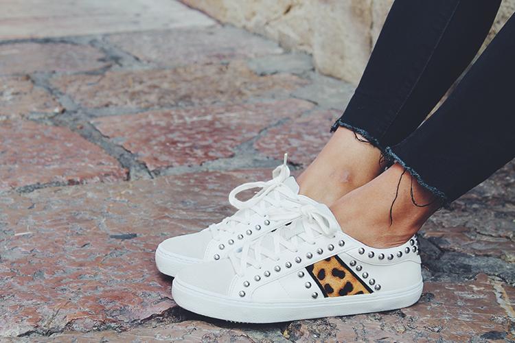 Zapatillas de leopardo de Zara moda