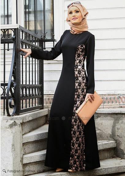 a9a7e9d96c416 Neşe Butik – Güpür Detaylı Taba Abiye Elbise – 2395-10. Tesettür Giyim ve Elbise  Modelleri birbirinden farklı model ve uygun fiyatlarla Markatesettur.
