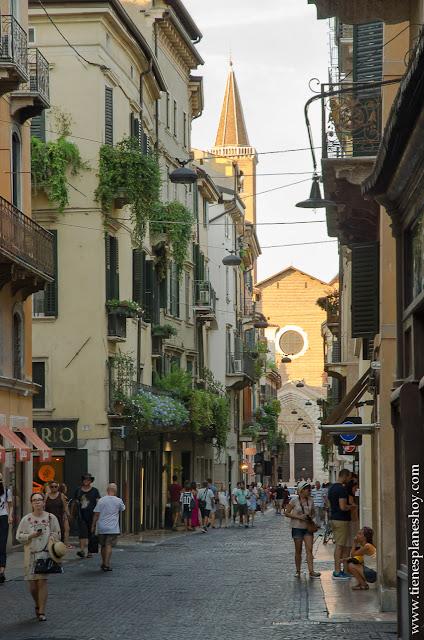 Verona ciudades romanticas Italia viaje 15 dias