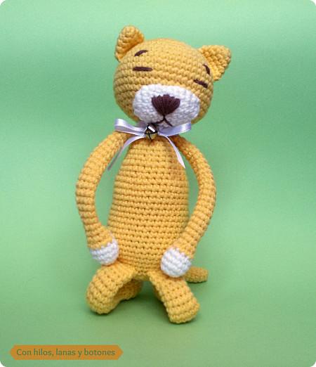 Con hilos, lanas y botones: amineko amigurumi