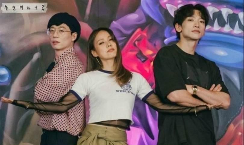 Yoo Jae Suk, Lee Hyori and Rain