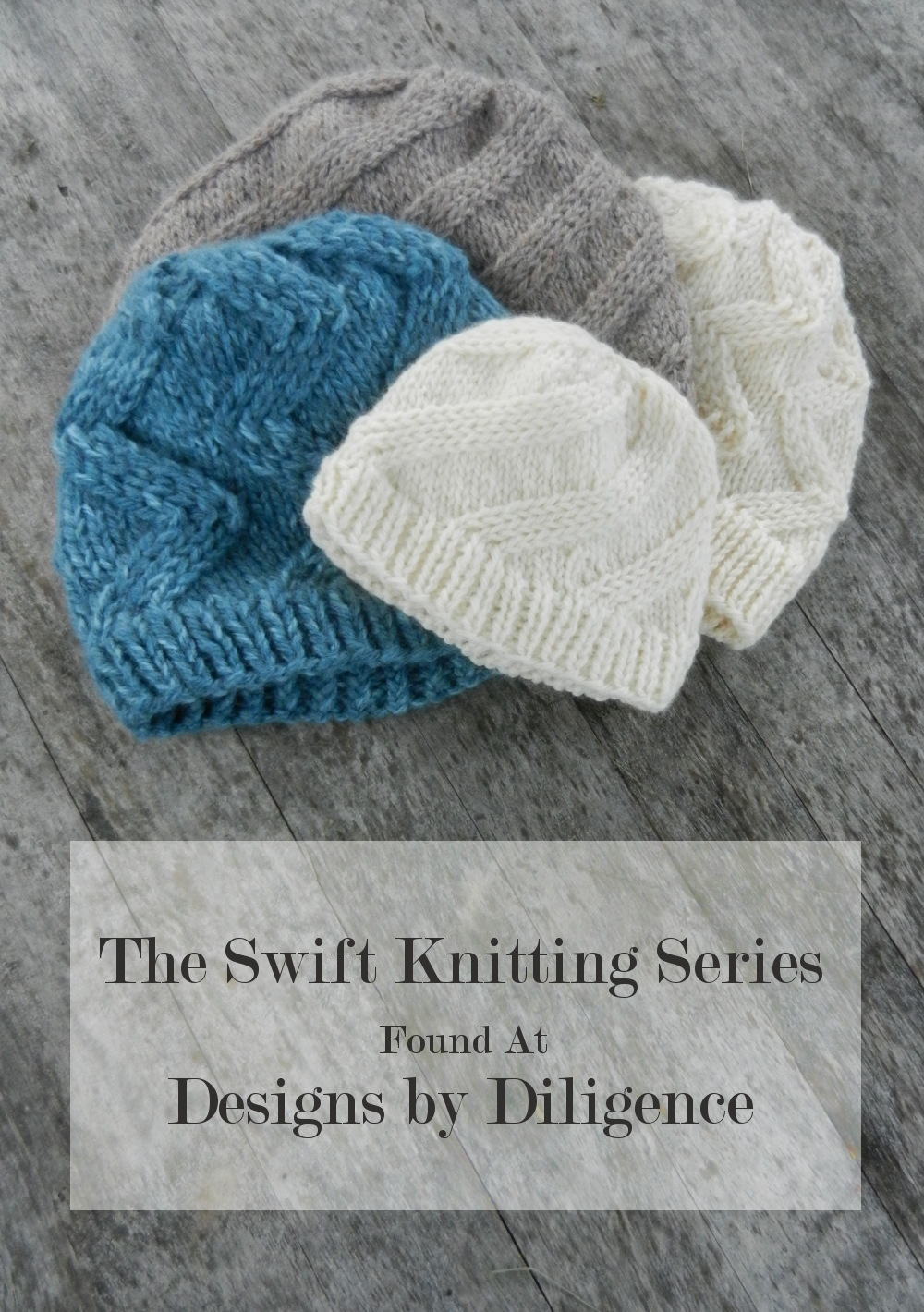 Knitting Pattern Design : Designs by Diligence: Swift Chevron Hat: A Knitting Pattern