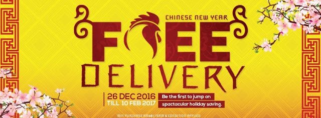 Chinese New Year Megasales @ www.nile.com.my