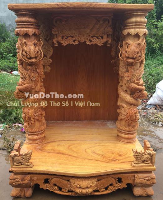 Mẫu bàn thờ thần tài ông địa đẹp nhất