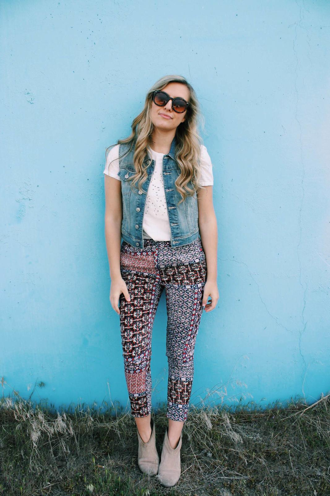 casual-printed-pants