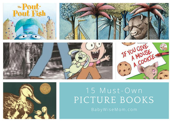 15 Must-Own Picture Books