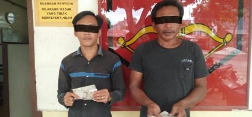 Dua Orang Pelaku Pungli di Amankan Polisi