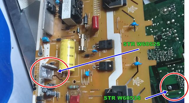 Kerusakan Power Supply TV LCD/;LED TOSHIBA