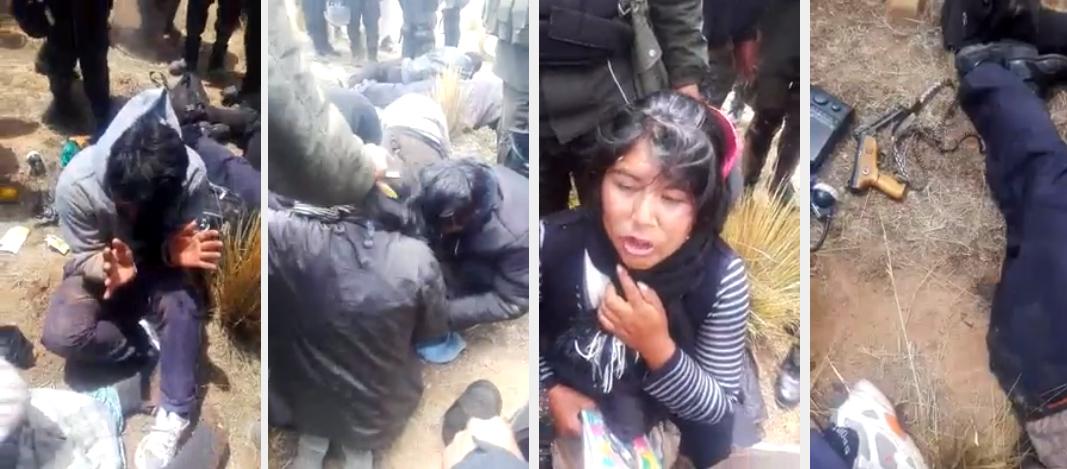 Video del rastrillaje filmado por policías se filtró en las redes y luego a los medios de comunicación