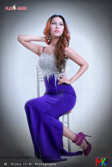 Waist No:4- Sweety Ko with purple outfit