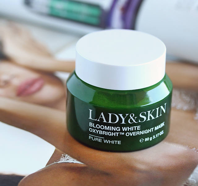 Lady&Skin  Blooming White Oxybright Overnight Mask Review, Sleeping Masks, Sleeping Packs