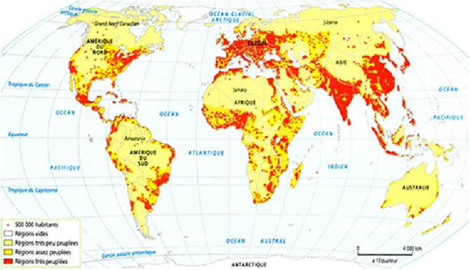 جغرافية السكان الفصل الأول
