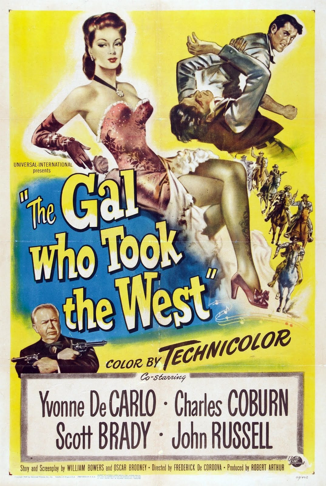 Image result for movie the gal who took the west