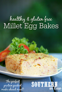 Healthy Millet Egg Bake Recipe
