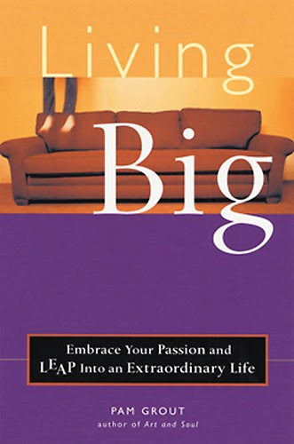 Living Big by Pam Grout – Book cover