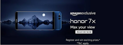 Honor 7X will be Amazon India exclusive, Launch in December