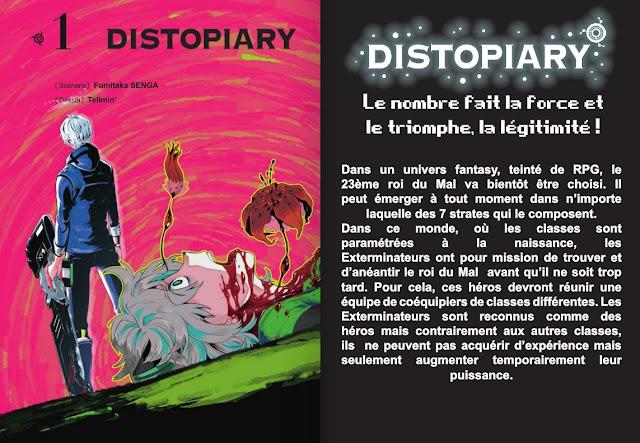 Critique Manga, Distopiary, Fumitaka Senga, Manga, Pika Edition, Tellmin,