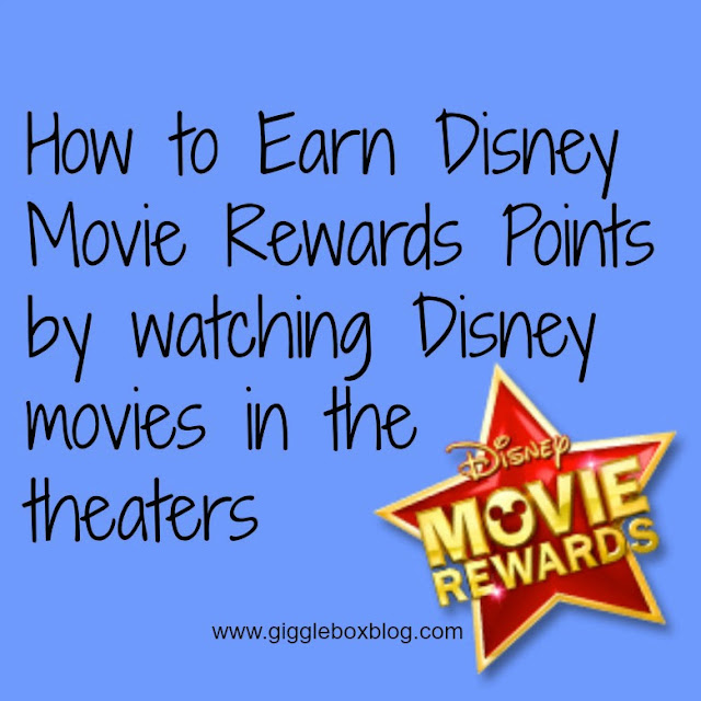 earning Disney Movie Rewards points by seeing Disney movies at the theater, Disney movie ticket stubs can earn you more Disney magic,