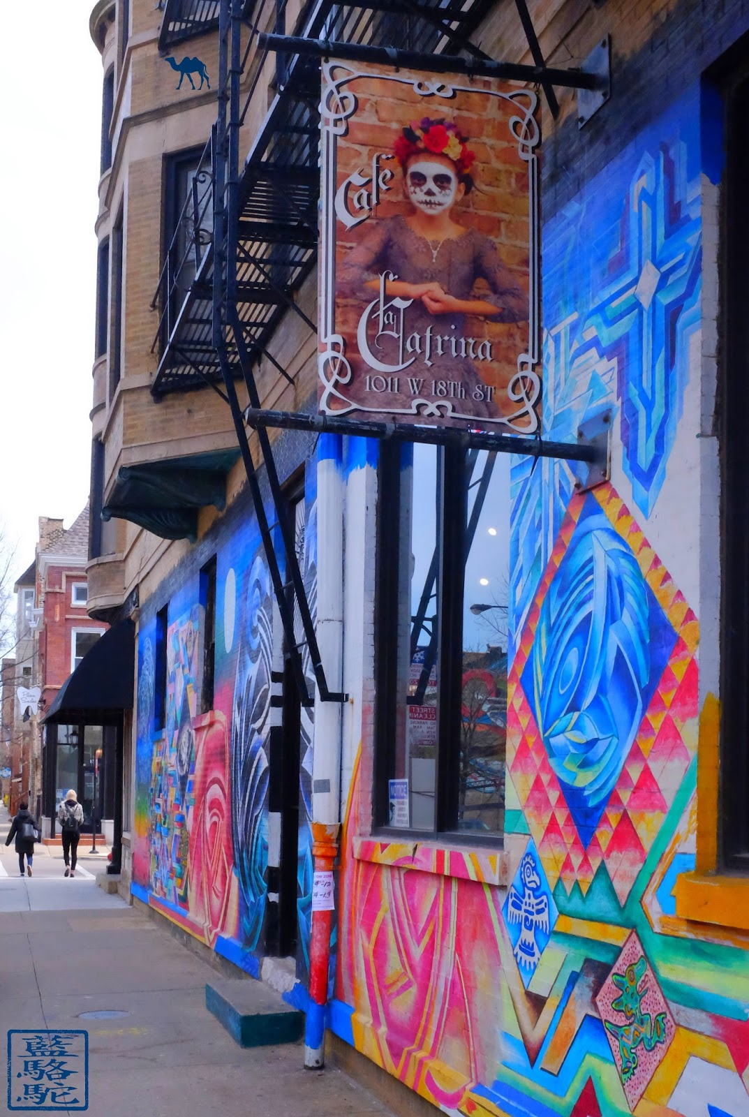 Le Chameau Bleu - La Catrina Cafe