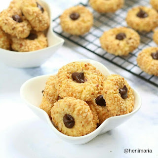 Ide Resep Kue Kering Nougat Nutella Thumbprint Cookies
