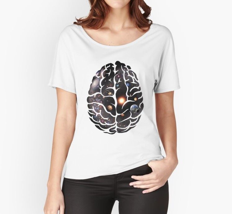 BRAIN UNIVERSE Relaxed T-Shirt