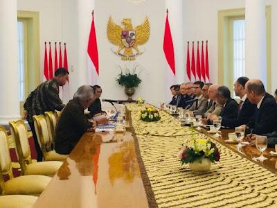 Presiden Jokowi Terima Delegasi AIIB di Istana Bogor - Info Presiden Jokowi Dan Pemerintah