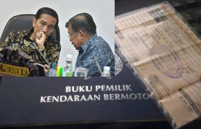 Jokowi Sempat Minta Tarif  STNK Tak Terlalu Tinggi